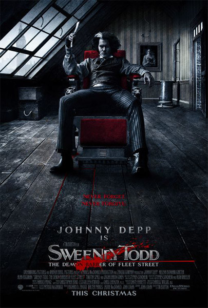 Sweeney Todd - The Demon Barber of Fleet Street Poster