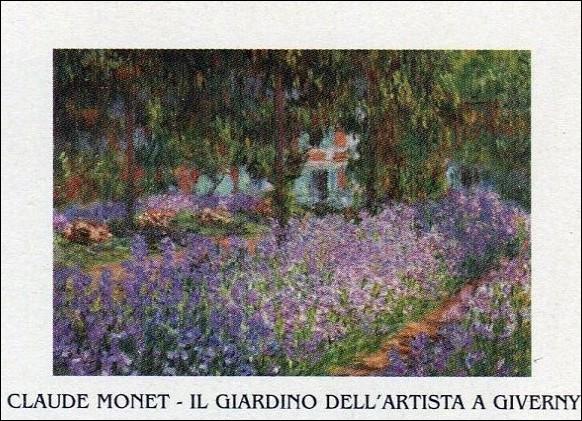 The Artist's Garden at Giverny, 1900 Kunstdruk