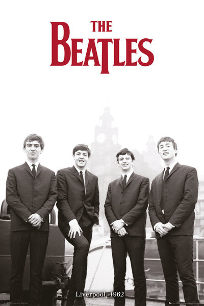 Póster  The Beatles - Liverpool 1966