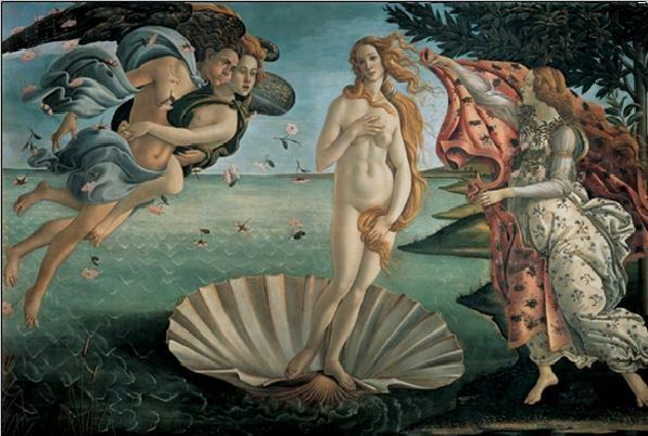 The Birth of Venus Kunstdruk