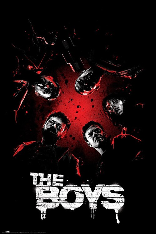 Póster The Boys - One Sheet