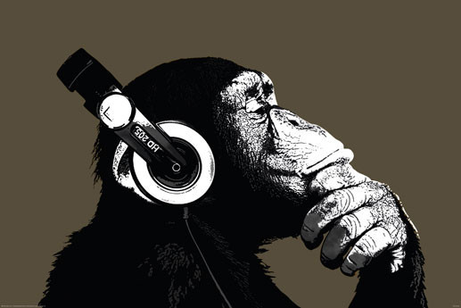 The Chimp - stereo Poster