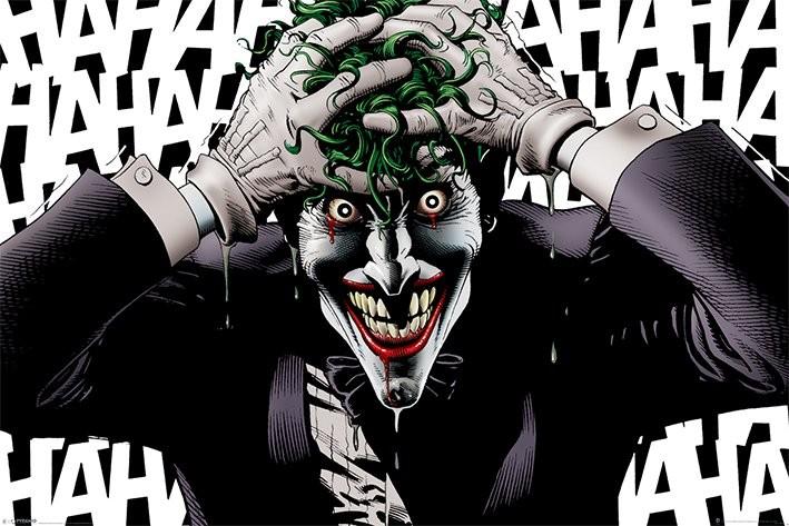 Póster The Joker - Killing Joke