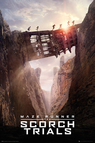 The Maze Runner - Bridge Poster