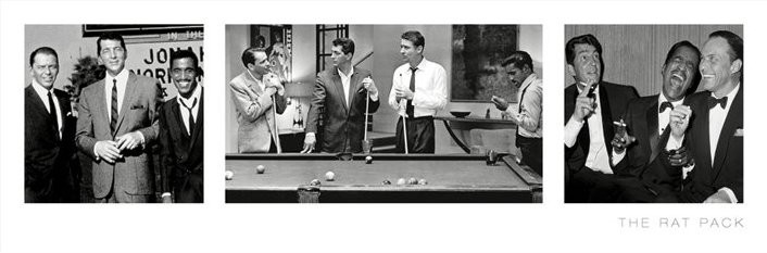 Bestel De The Rat Pack 3 Images Poster Op Europostersnl