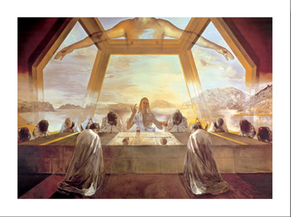 The Sacrament of the Last Supper, 1955 Kunstdruk