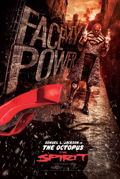 THE SPIRIT - face my power Poster