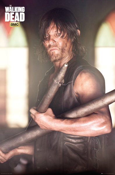 Poster The Walking Dead - Daryl Faith Portrait