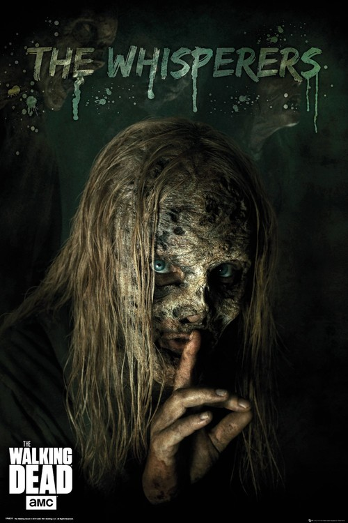 Póster The Walking Dead - The Whisperers