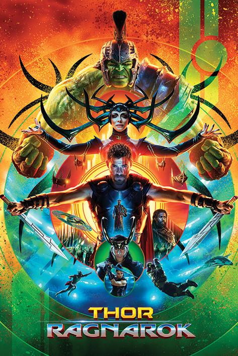 Poster Thor Ragnarok - One Sheet