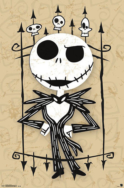 Tim Burton's The Nightmare Before Christmas - Jack Poster