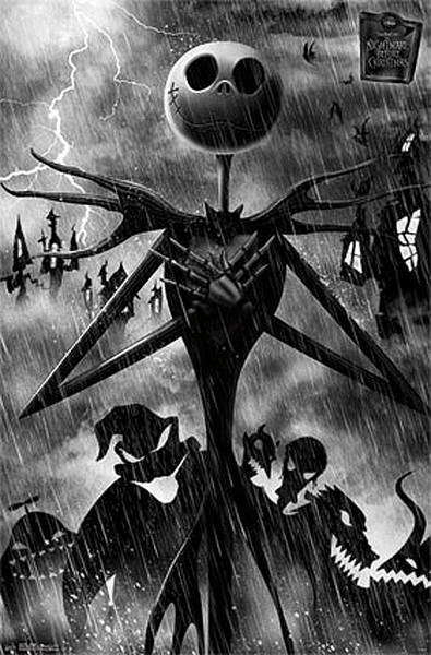 Tim Burton's The Nightmare Before Christmas - Shadow Poster