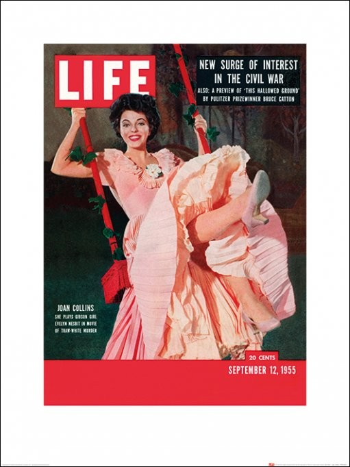 Time Life - Life Cover - Joan Collins Kunstdruk