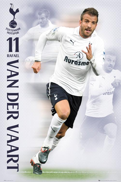 Poster Tottenham Hotspur - van de vaart
