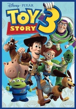 Póster 3D  TOY STORY 3