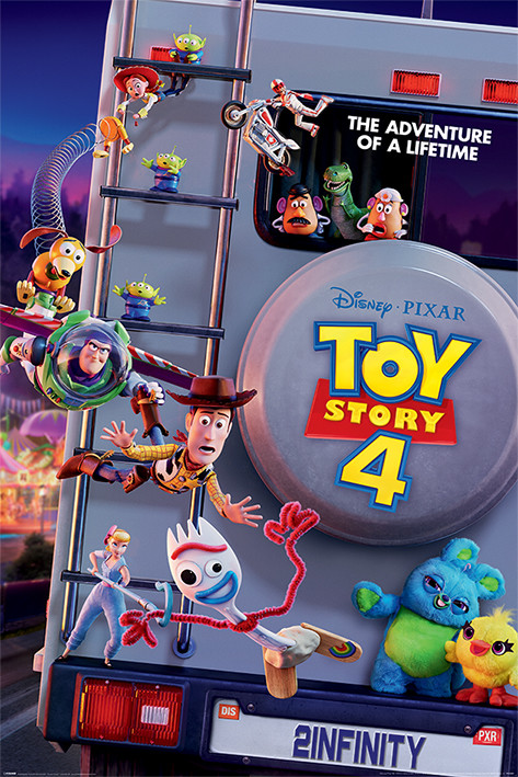 Poster  Toy Story 4 - Adventure Of A Lifetime
