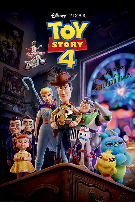 Póster  Toy Story 4 - Antique Shop Anarchy