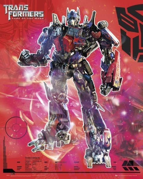 Poster TRANSFORMERS 3 - optimus