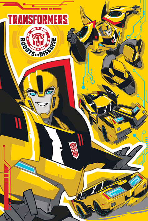 Poster Transformers: Robots in Disguise - Bb Transforms