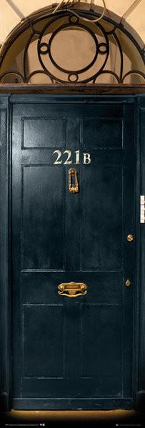 Póster  Uusi Sherlock - 221b Door
