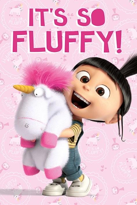 Verschrikkelijke Ikke - It's So Fluffy Poster