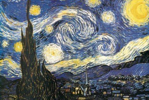 🤩 Vincent van Gogh - starry night Póster, Lámina | Compra en ...