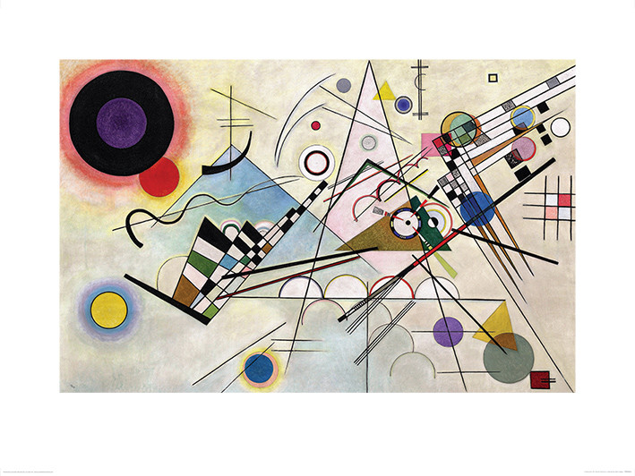 Wassily Kandinsky - Composition VIII Kunstdruk