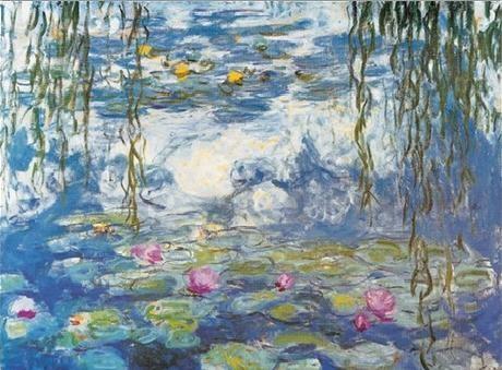 Water Lilies, 1916-1919 Kunstdruk
