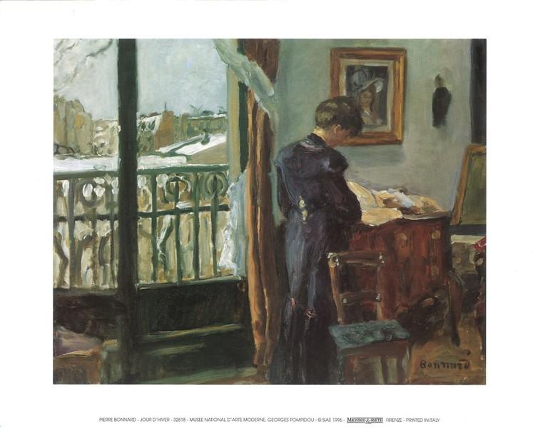 Winter's Day, 1905 Kunstdruk