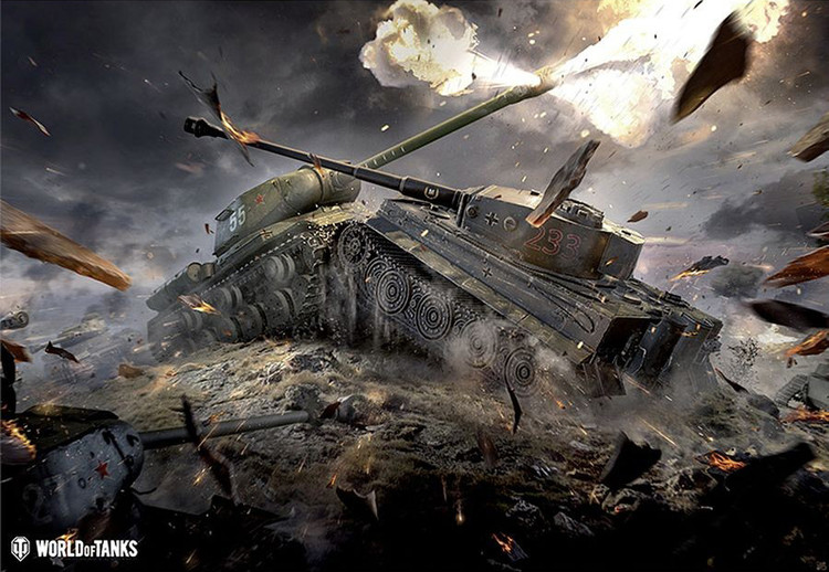 Póster  World of Tanks - Tanks