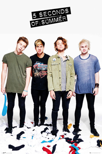 5 Seconds Of Summer - Clothes Poster