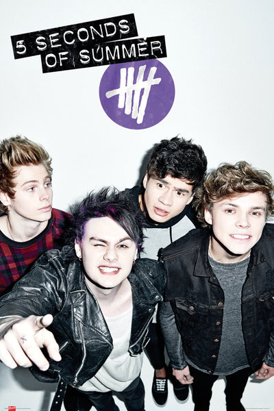 5 Seconds of Summer - Single Cover Poster
