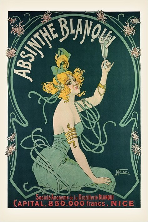 Absinthe Blaqui Poster