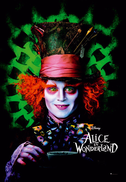ALICE IN WONDERLAND - mad hatter Poster