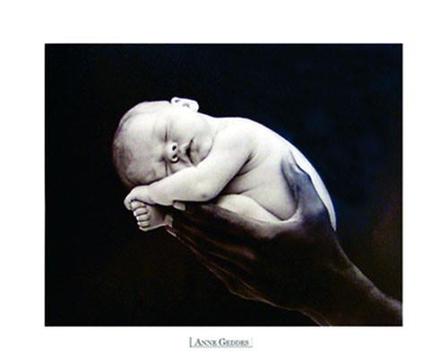 Anne Geddes - hand Poster