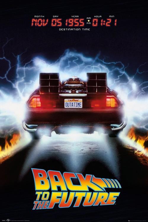 Back To The Future - Delorean Poster