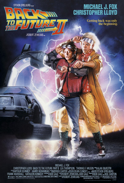 Back To The Future II - Back Poster