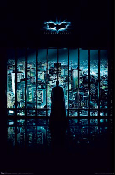 BATMAN THE DARK KNIGHT - gotham city Poster