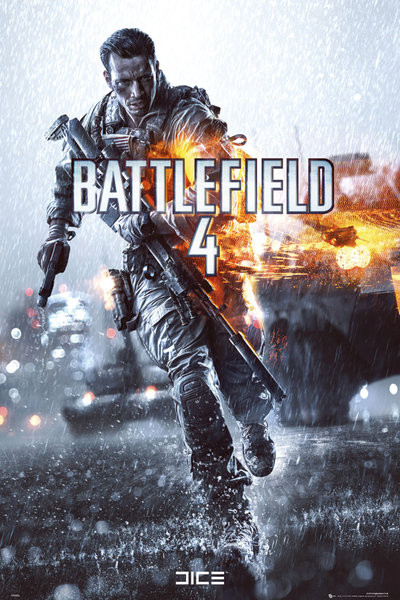 Battlefield 4 - cover  Poster