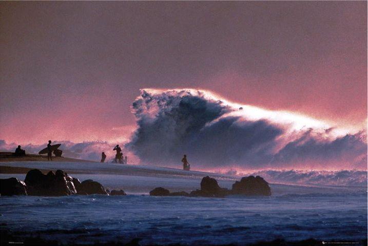 Big wave Poster