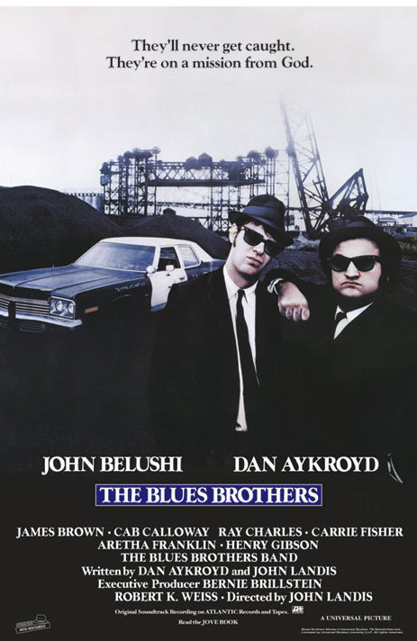 BLUES BROTHERS - one sheet Poster
