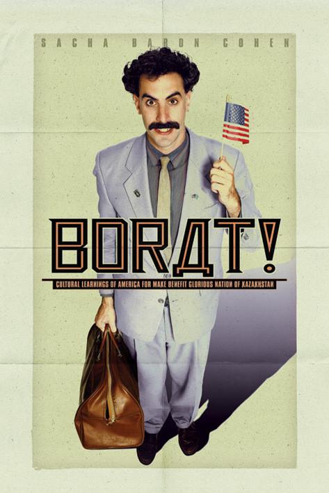 BORAT - one sheet Poster