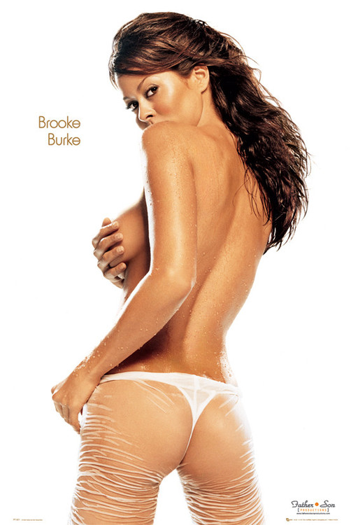 Brooke burke - wet Poster