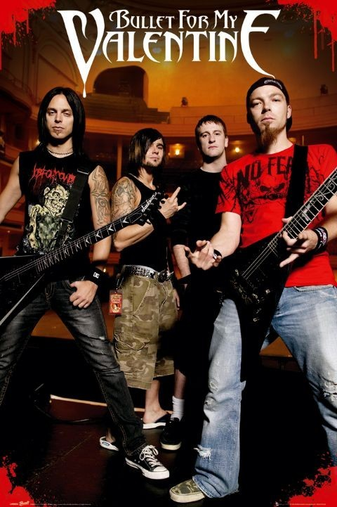 Bullet for my valentine - theatre Poster