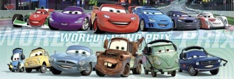 CARS 2 - cast Poster