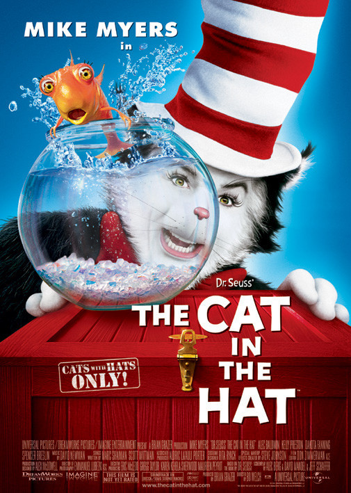 CAT IN THE HAT - one sheet Poster
