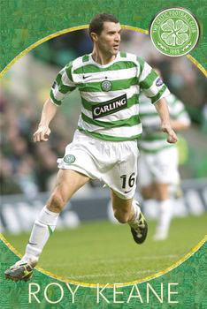 Celtic - roy keane Poster