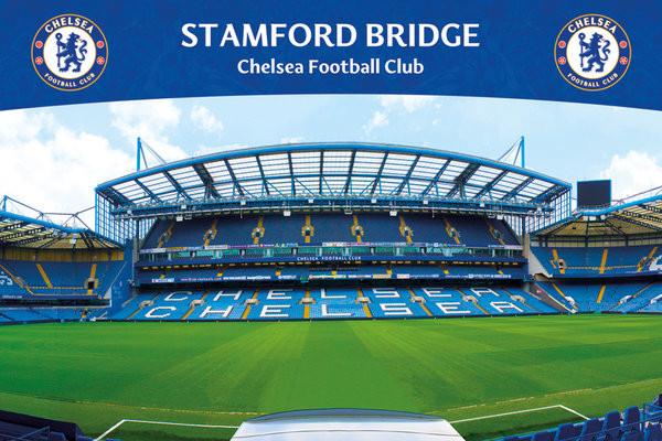 Chelsea FC - Stamford Bridge 13 Poster