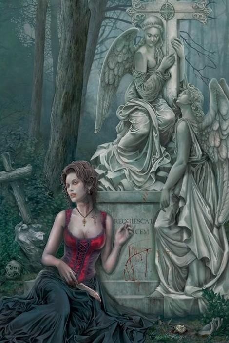 Chris Ortega - graveside Poster