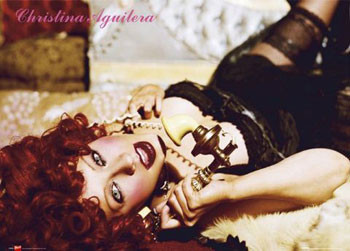 Christina Aguilera - telephone Poster